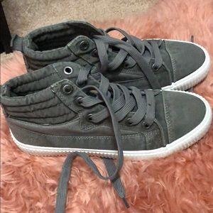 Blowfish lace up tennis shoes